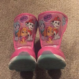 Other - Paw Patrol Snow Boots- Baby/Toddler size 6